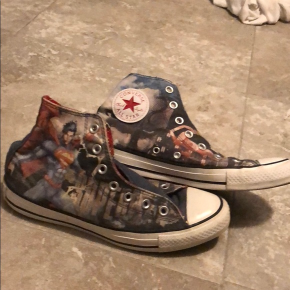 Converse Shoes - Superman converse